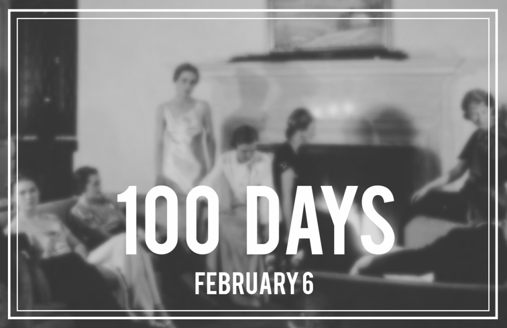 100 Days Party Invite 2