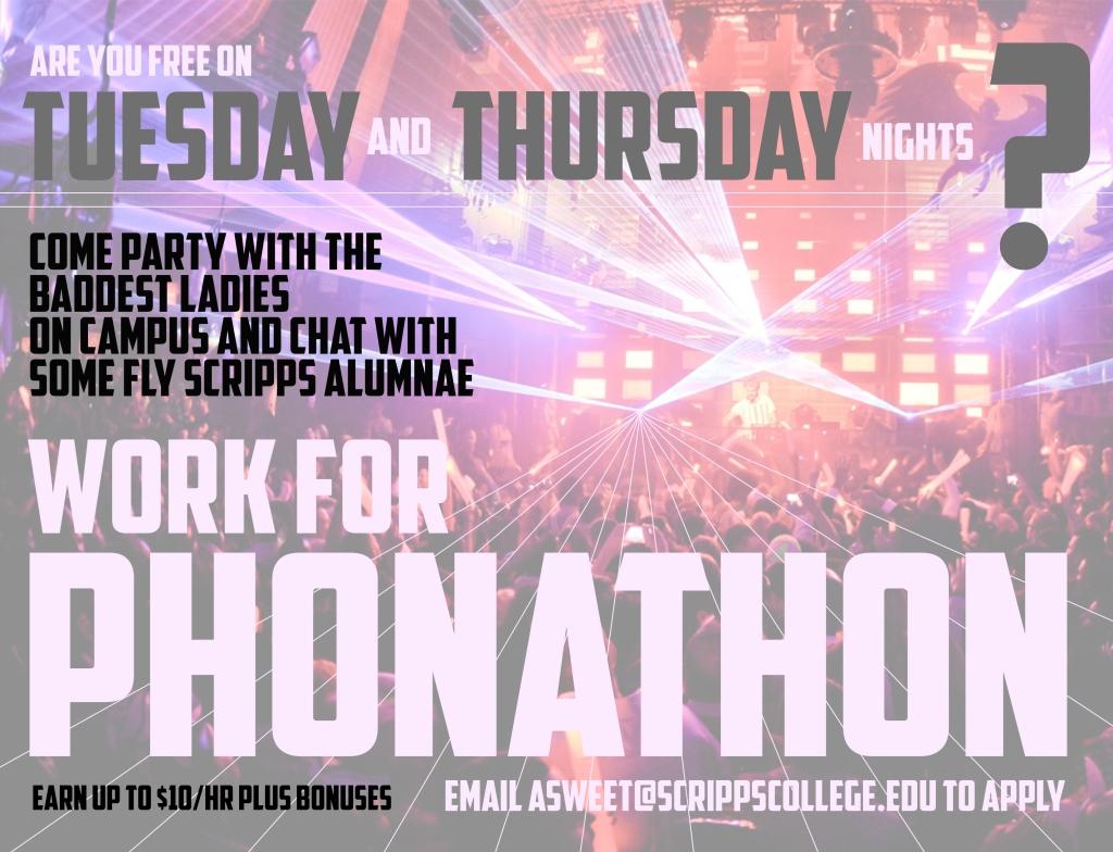Phonathon Poster
