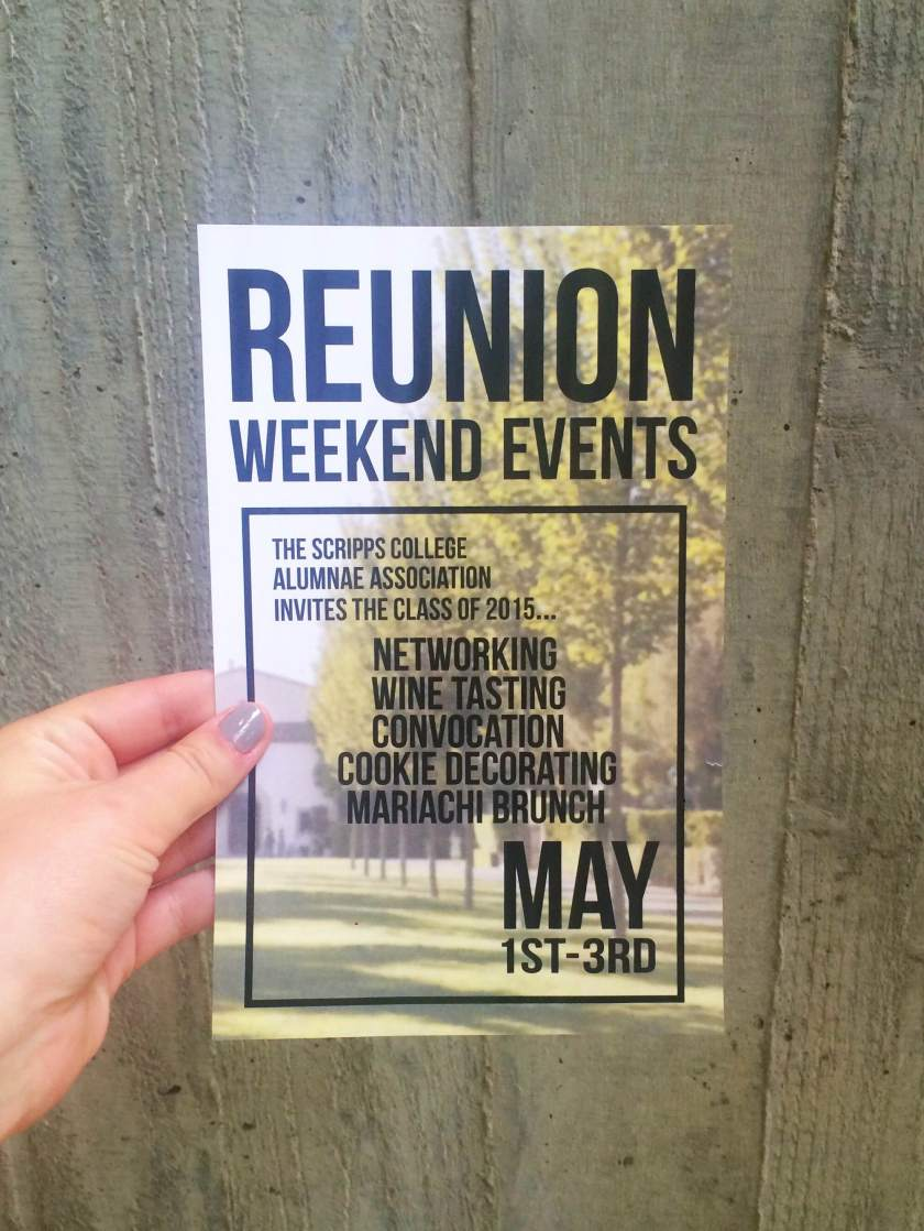 Reunion Weekend Events Scripps College