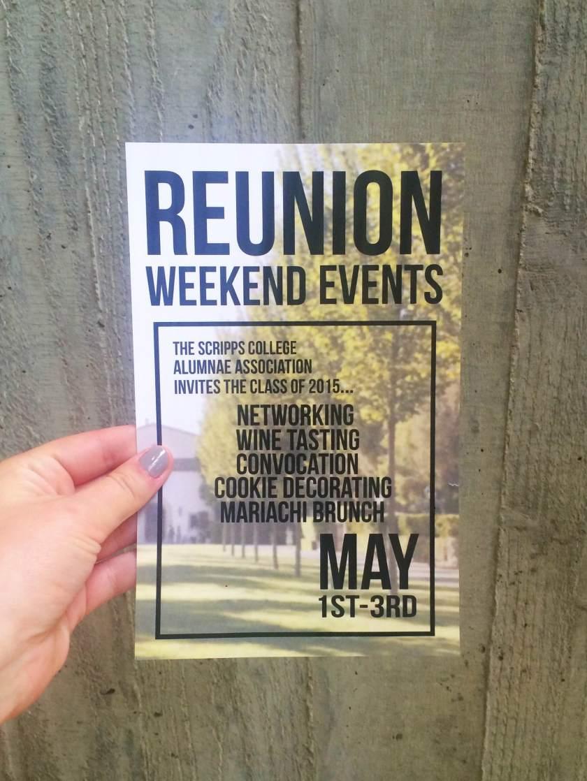 Reunion Weekend Events Scripps College