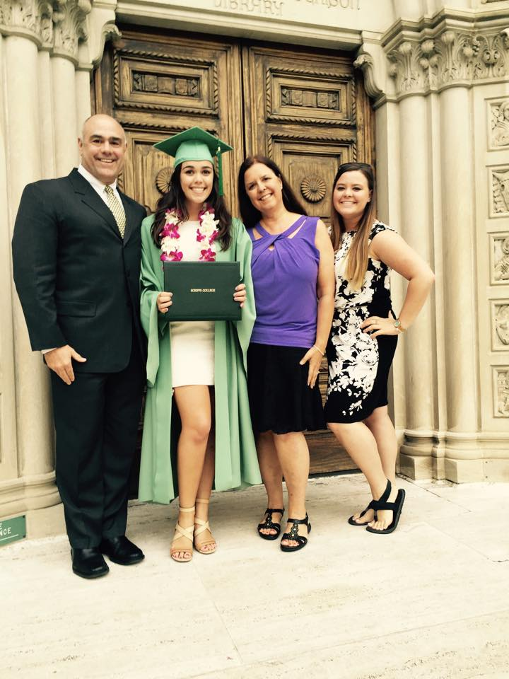Graduation with the Family