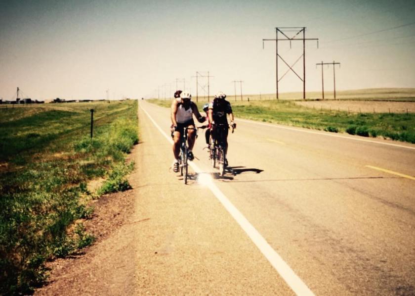 Tandem Biking in Montana