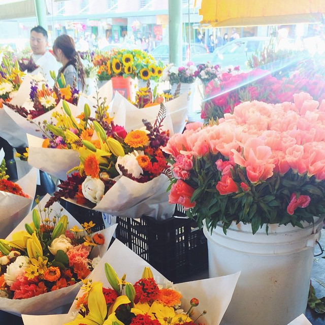 Pike Place Flowers